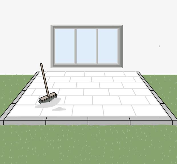 Terrassenplatten Verlegen Schritt Fur Schritt Globus Baumarkt