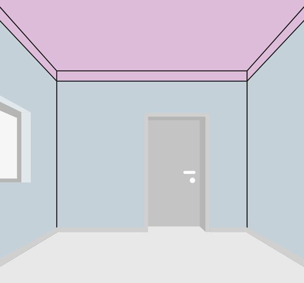 Wände Farbig Streichen: Hohe Decken Streichen