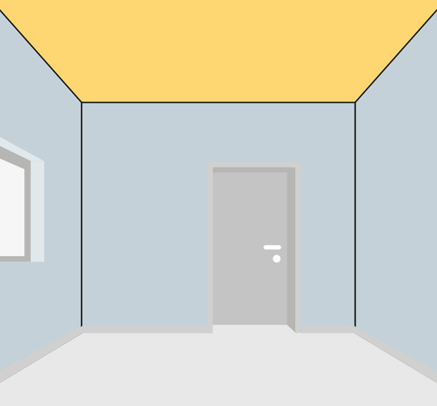 übergang Decke Wand Streichen.Wände Decken Streichen Schritt Für Schritt Globus Baumarkt