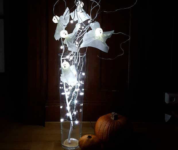 Led Lichterkette Fur Halloween Basteln Globus Baumarkt