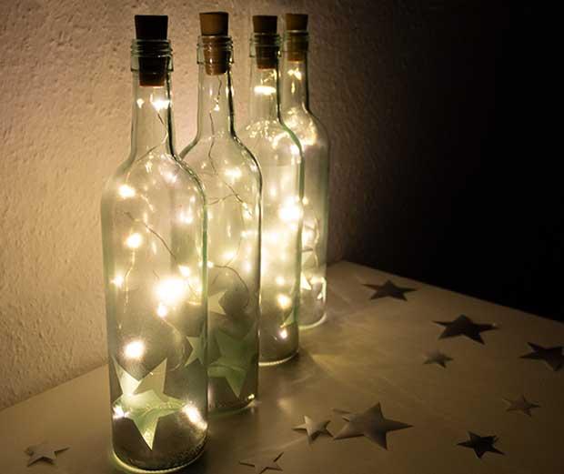 Led Flaschenlichter Basteln Globus Baumarkt