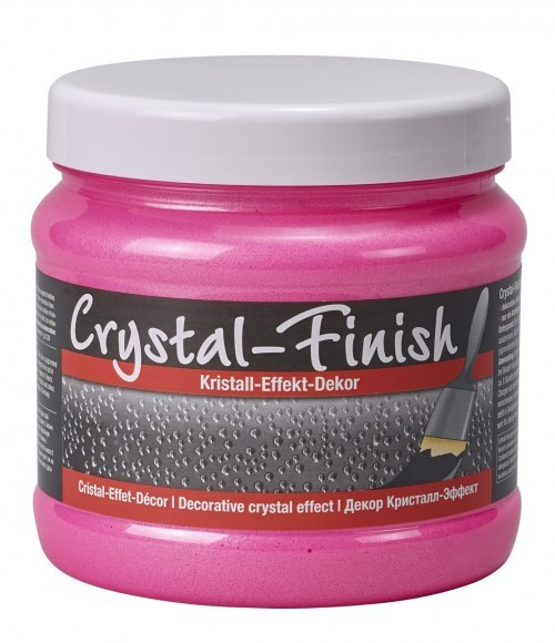 Decotric Crystal-Finish neon pink 750 ml