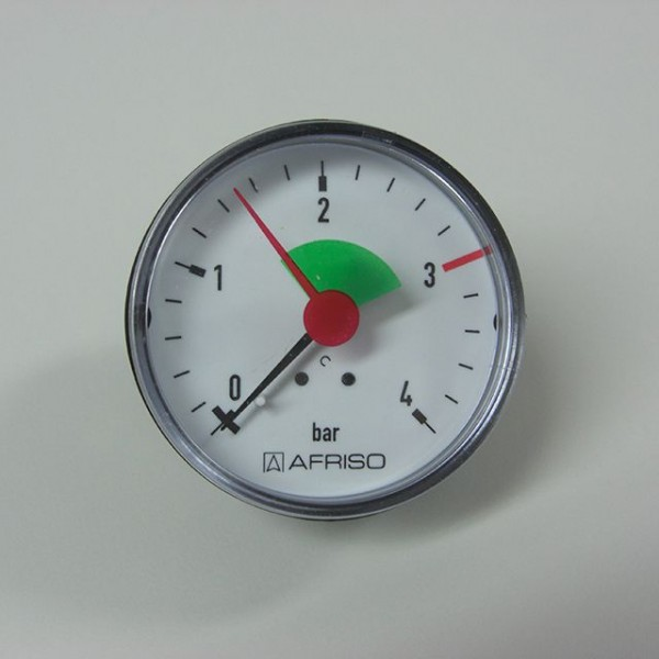 sanicomfort Manometer 3/8 hinten""