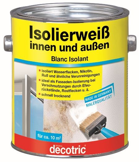 Decotric Isolierweiß 2 l
