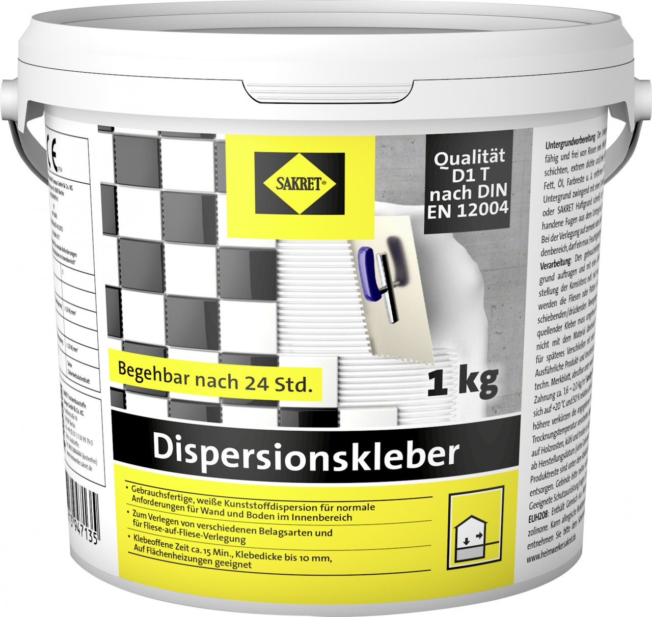 Sakret Dispersionskleber 1 kg