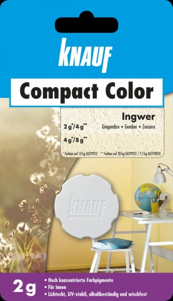 Knauf Farbpigment Compact Color 2 g ingwer