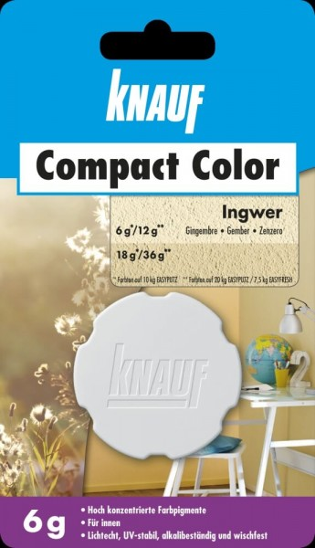 Knauf Farbpigment Compact Color 6 g ingwer