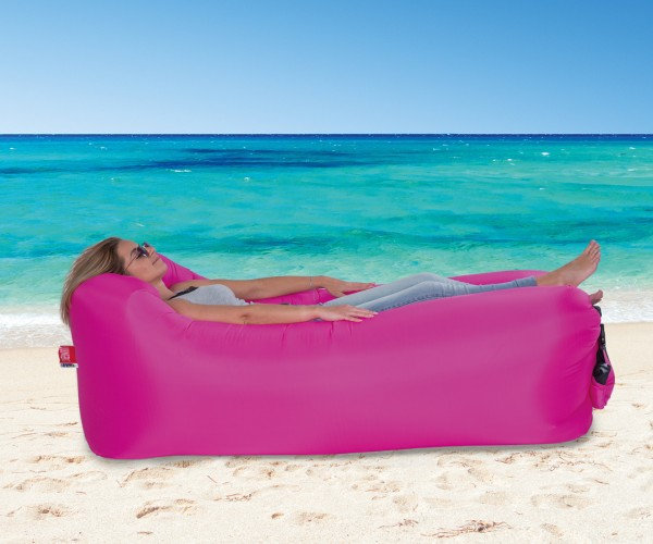 LOUNGER TO GO 2.0® pink 180 x 75 x 60 cm