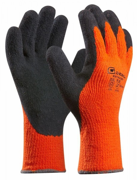 Gebol Handschuh Winter Grip Größe: 11 orange