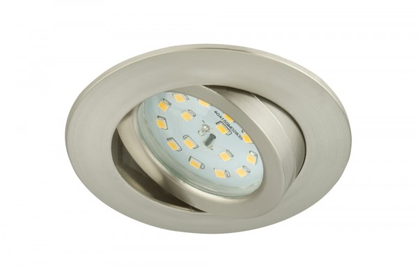 Briloner LED Einbauleuchte Attach matt-nickel