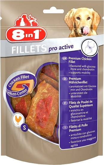 8in1 Hundesnack Fillets Pro Active S