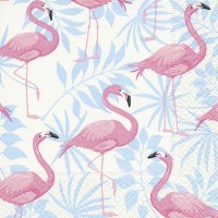 Paper+Design Servietten Tissue Flamingo