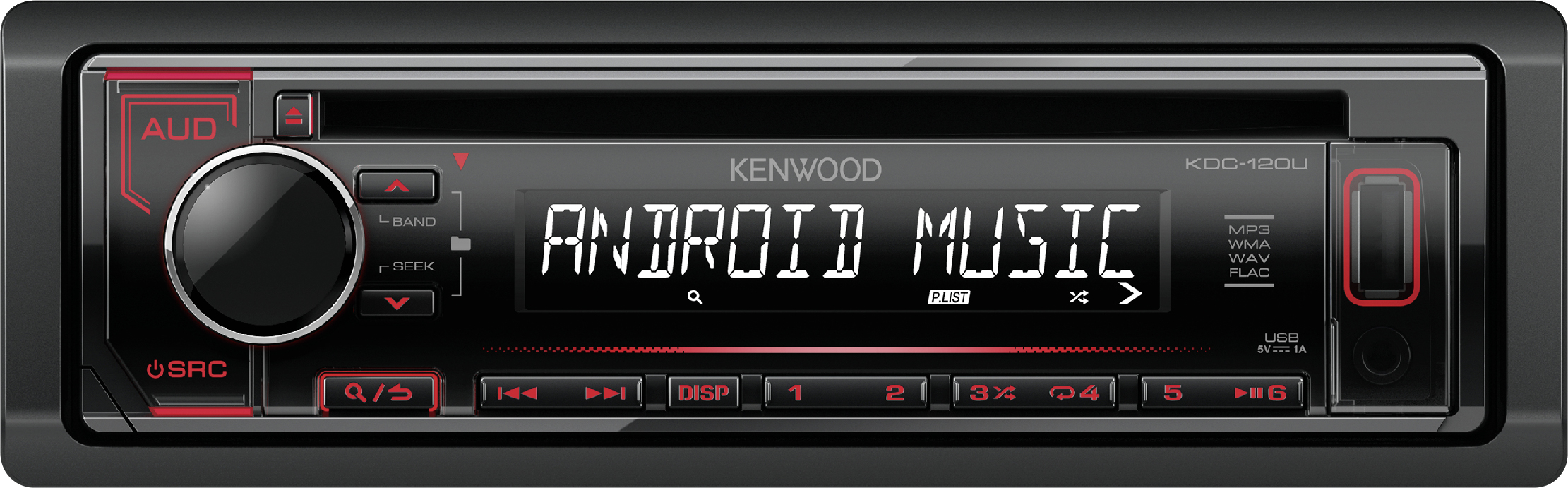 kenwood autoradio kdc 120ur autoradios zubeh r g nstig. Black Bedroom Furniture Sets. Home Design Ideas