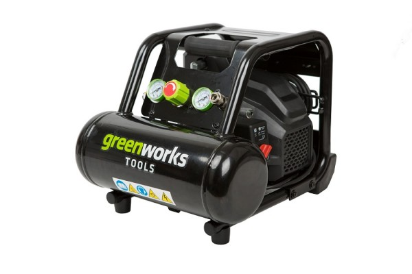 Greenworks Kompressor 5l 8 bar 5 l 90l/min