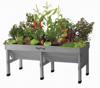 VegTrug Pflanztrog Medium grey-washed