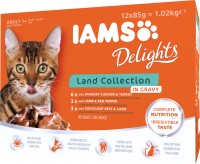 Iams Delights Katzennassfutter Land Collection in Sauce