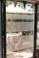 d-c-fix® Folie Static Window Stripes Clarity