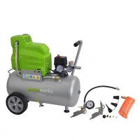 Greenworks Kompressor Set 24l