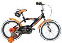 Hi5 Kinderrad Rebel orange/schwarz, 14 Zoll