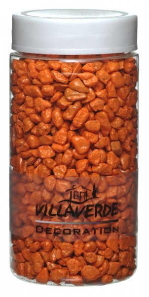 Villa Verde Dekosteine 5-8 mm orange 370 ml Dose (ca. 650 g)