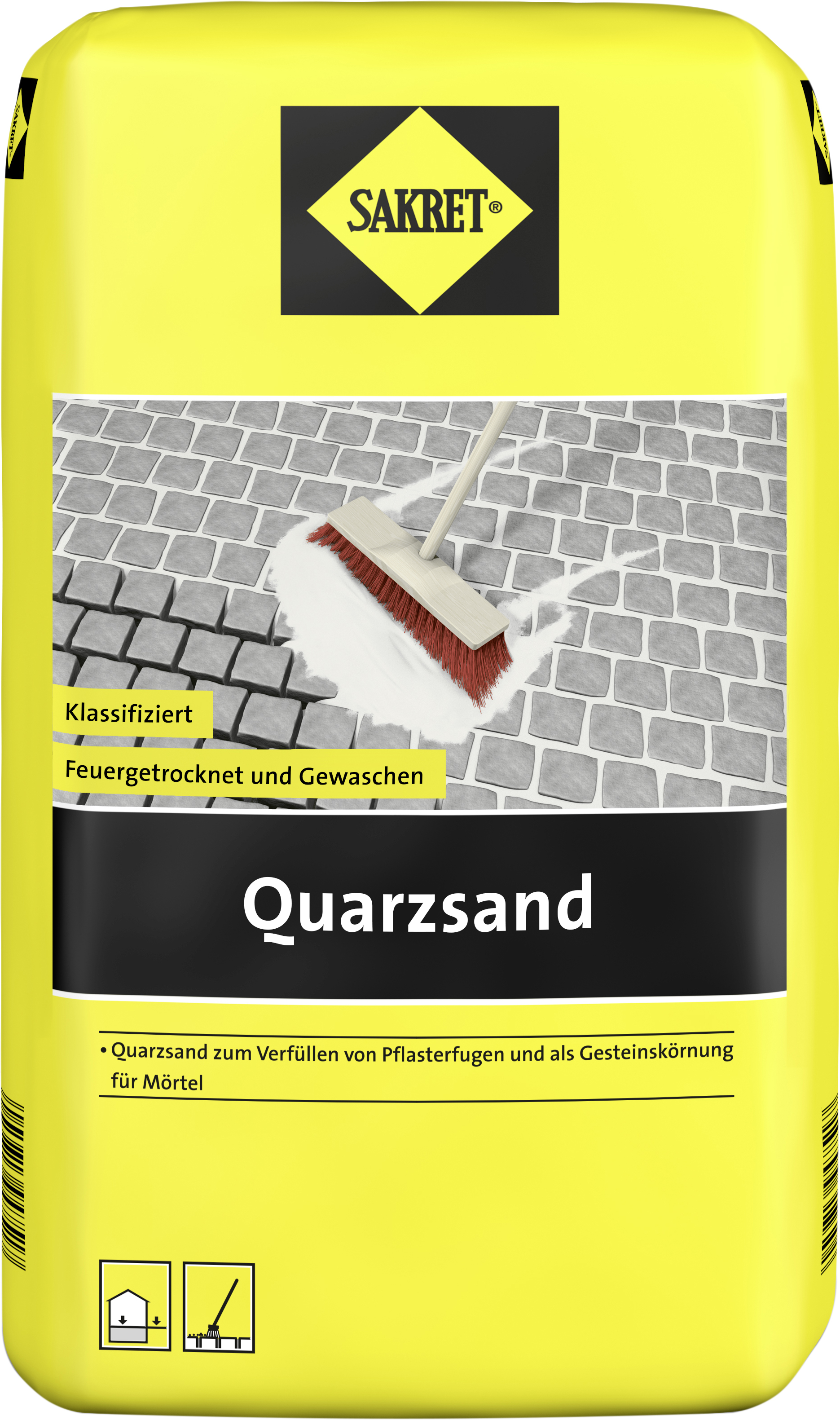 sakret quarzsand fugenmaterial spielsand globus baumarkt online shop. Black Bedroom Furniture Sets. Home Design Ideas