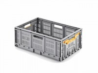 AluTec Industrie-Faltbox grau