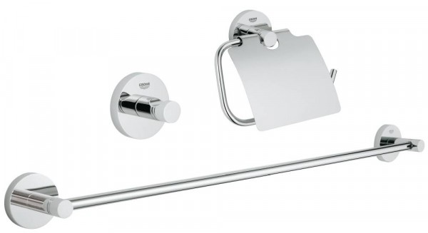GROHE Essentials Bad-Set 3 in 1 Metall chrom glänzend