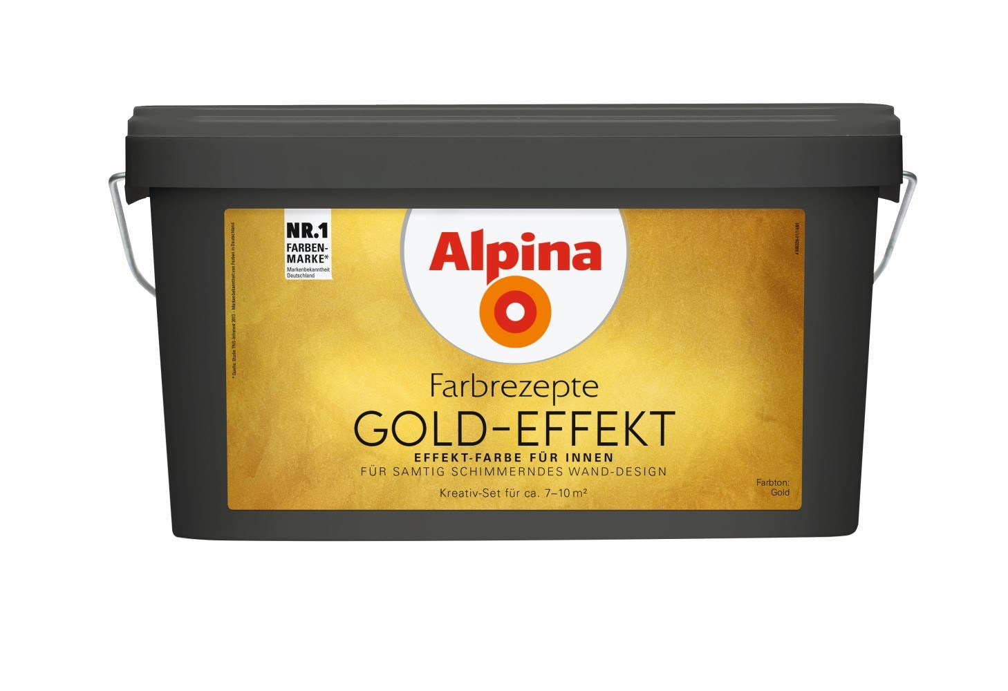 alpina innenfarbe gold effekt farbig globus baumarkt online shop. Black Bedroom Furniture Sets. Home Design Ideas