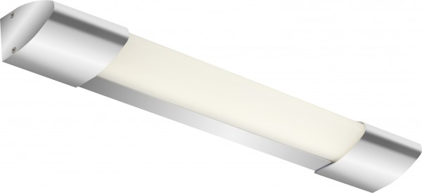Briloner LED Bad-Wandleuchte chrom 45 cm