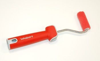 Schabert Farbroller RedFibre Soft-Touch 6 cm 4 mm rot