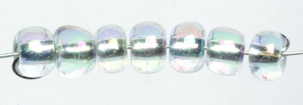 Glorex Rocailles 4,5 mm 17 Gramm crystal