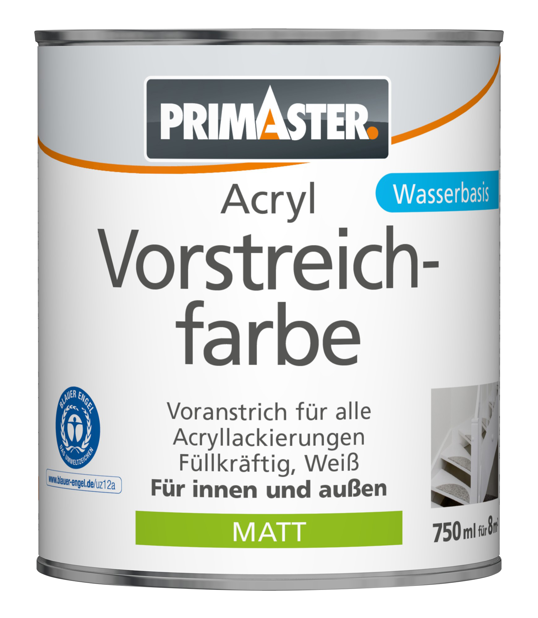 primaster acryl vorstreichfarbe grundierungen globus baumarkt online shop. Black Bedroom Furniture Sets. Home Design Ideas