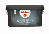 Alpina Innenfarbe Beton-Optik