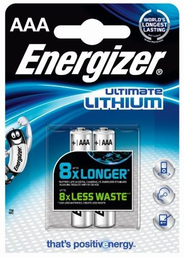 Energizer Ultimate Lithium Micro AAA 1,5 V 2er Pack