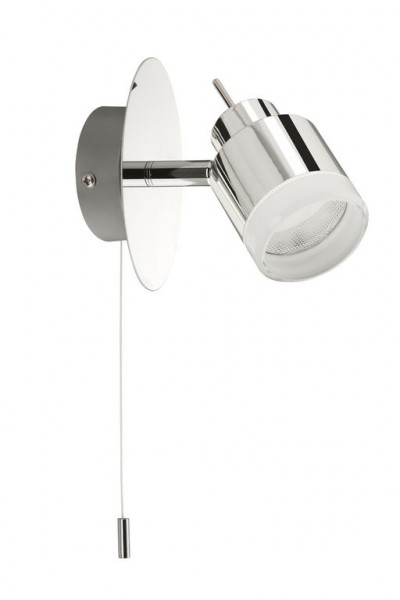 Briloner LED Wandleuchte Splash 1-flammig chrom