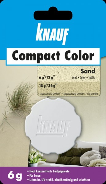 Knauf Farbpigment Compact Color 6 g sand