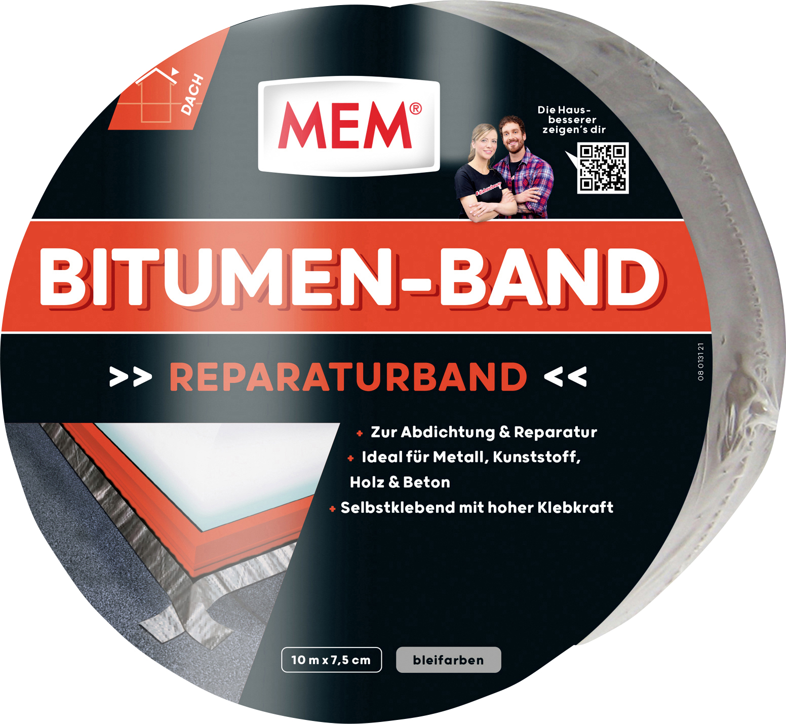 mem bitumen band dachpappe bitumen globus baumarkt online shop. Black Bedroom Furniture Sets. Home Design Ideas