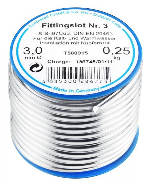 Cornat Fittingslot Inhalt: 250 g