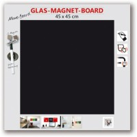 The Wall Glas-Magnetboard 45 x 45 cm