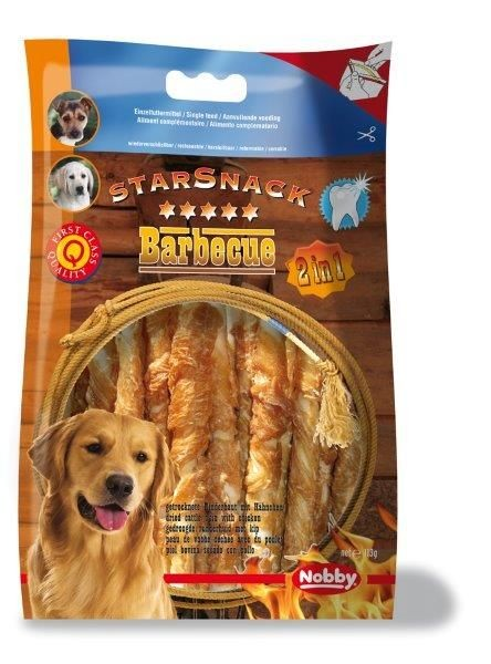 Nobby StarSnack Barbecue Wrapped Chicken 113 g 12,5 cm