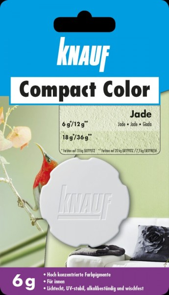 Knauf Farbpigment Compact Color 6 g jade