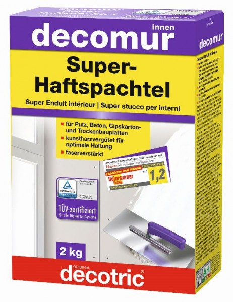 Decotric Super-Haftspachtel Decomur 2 kg