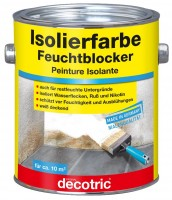 Decotric Isolierfarbe Feuchtblocker