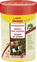 Sera Fischfutter Shrimps natural