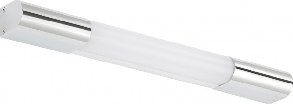 Briloner LED Bad-Wandleuchte Surf chrom 45 cm