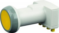 SCHWAIGER - Quad LNB, Sun Protect, digital