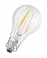 Osram LED Base Classic E27  5 er-Pack A 60 , Filament, klar