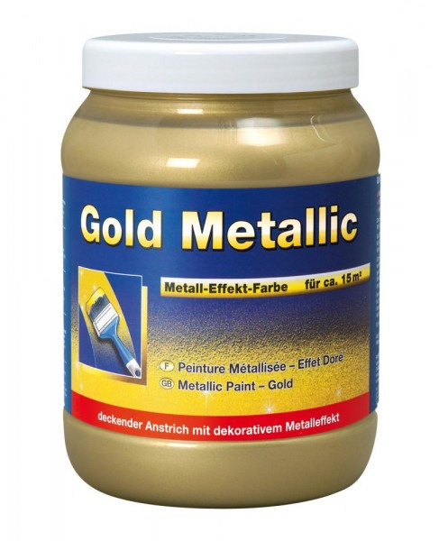 Decotric Gold Metallic Effekt-Lasur 1,5 l