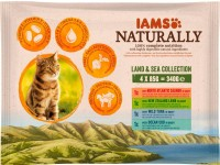 Iams Naturally Katzennassfutter Land & See