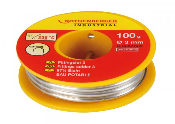 Rothenberger Fittingslot 3 Inhalt: 100 g